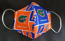 Load image into Gallery viewer, Florida Gators Print Fabric face mask