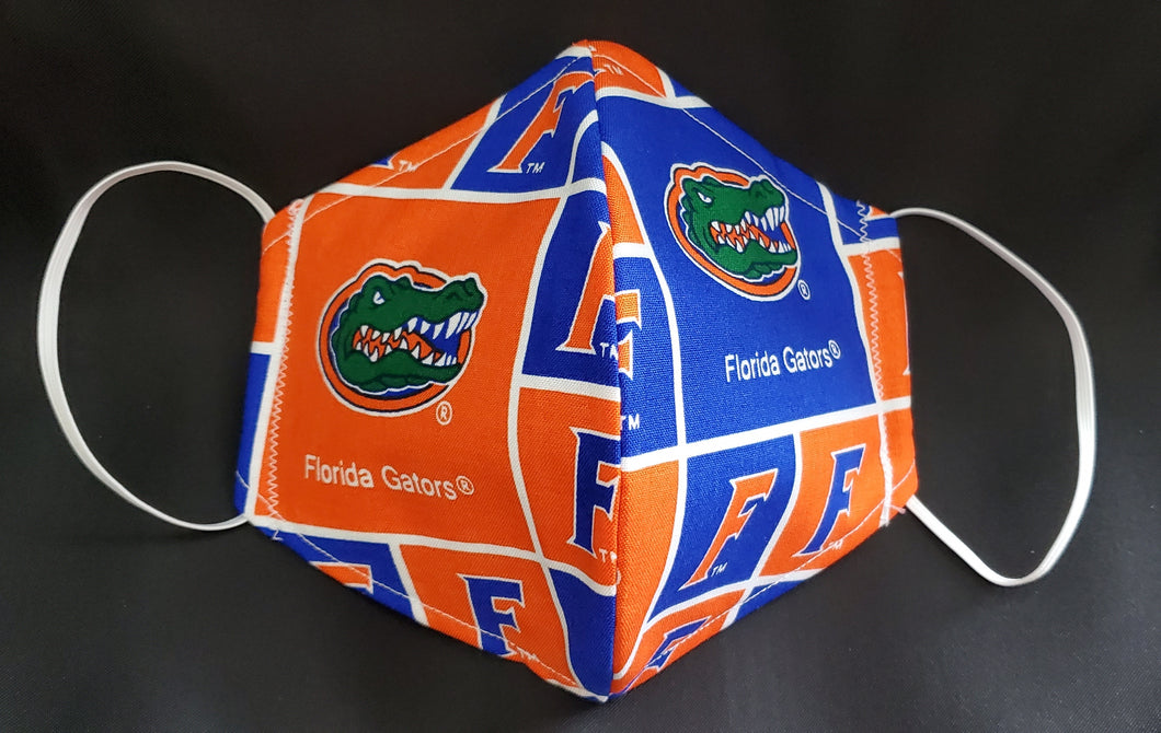 Florida Gators Print Fabric face mask