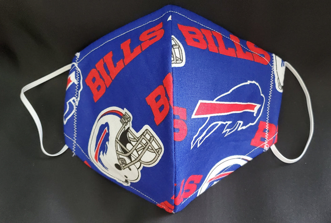 Bills Print Fabric face mask