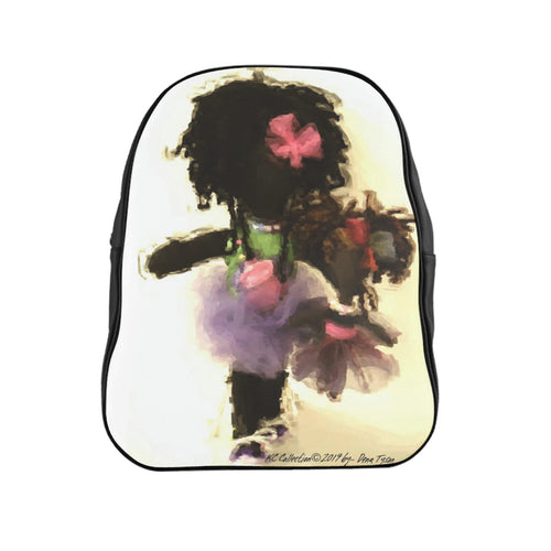 School Backpack - Germ Freak by DenaTyson
