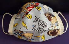 It's a Ruff Life-Germ Freak Designer Face Mask by Dena Tyson - Germ Freak by DenaTyson