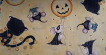 Load image into Gallery viewer, Enchanted Bandido Mouse Cats and Pumpkins- - Germ Freak by DenaTyson