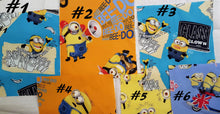 Load image into Gallery viewer, So Many Minions -Germ Freak Designer Face Mask by Dena Tyson - Germ Freak by DenaTyson