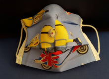 So Many Minions -Germ Freak Designer Face Mask by Dena Tyson - Germ Freak by DenaTyson