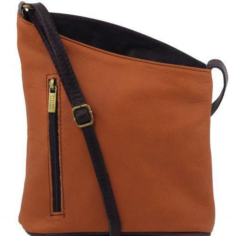 buy leather unisex cross bag online