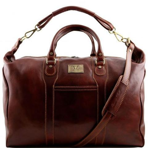 buy travel leather weekender bag online