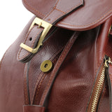 Jakarta - Leather Backpack leather backpacks