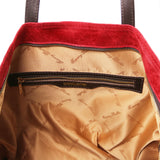 Annie - Aged effect leather TL SMART shopping bag Customize for Women