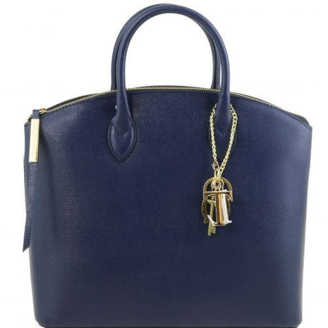 TL KeyLuck - Saffiano leather tote