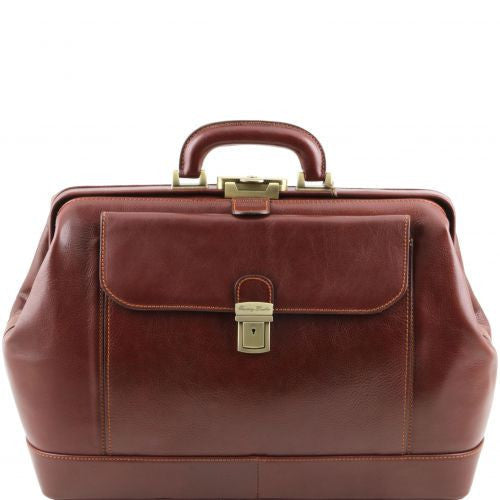 Leonardo - Exclusive leather doctor bag