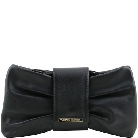Priscilla - Clutch leather handbag