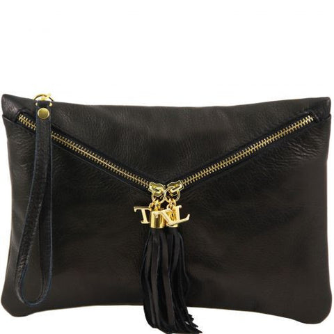 Audrey - Leather clutch