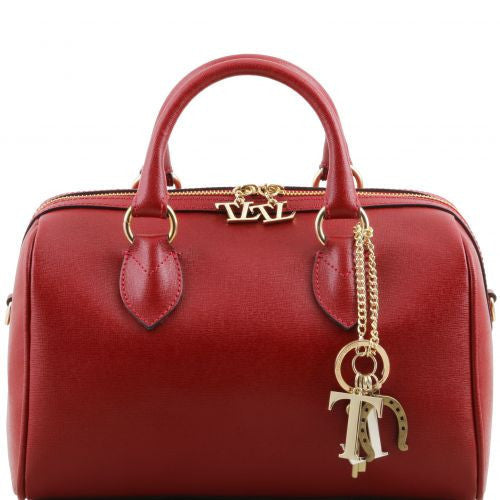 TL Keyluck - Saffiano leather duffle bag