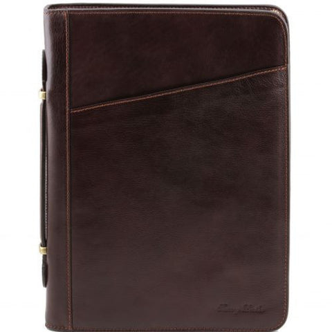 Claudio - Exclusive leather document case with handle