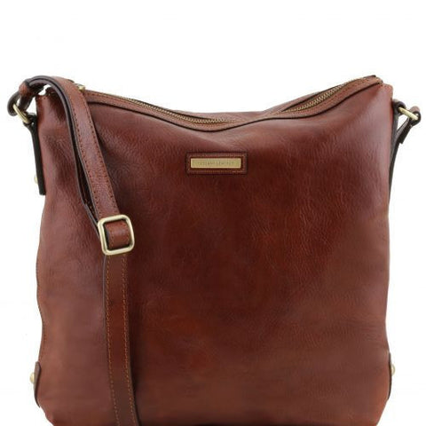 Alice - Leather tote for woman - Large size