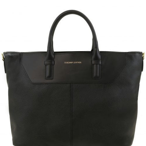 Irene - Soft leather TL SMART shopping bag