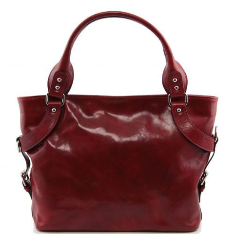 Ilenia - Leather shoulder bag