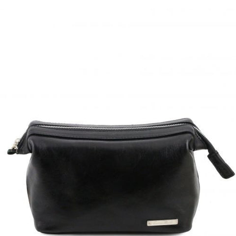 Ronny - Leather toilet bag
