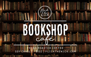 Bookshop Café - Flick The Wick