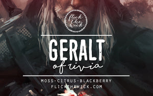 Geralt of Rivia - The Witcher - Flick The Wick