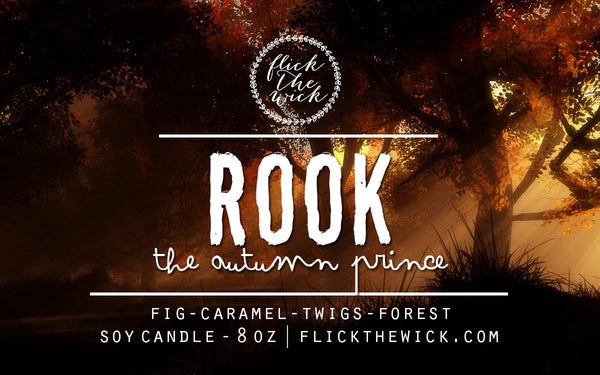 Rook (The Autumn Prince) - An Enchantment of Ravens - Flick The Wick