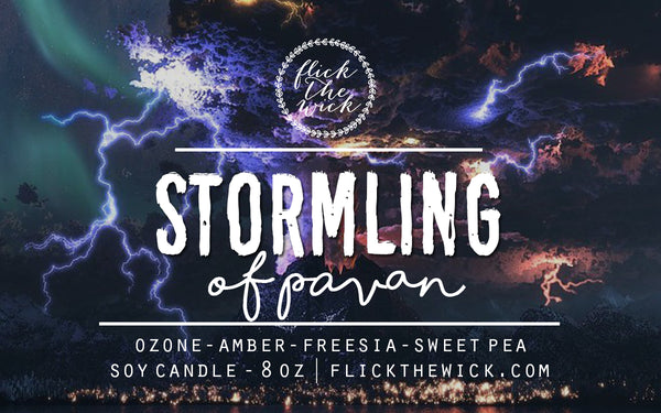 Stormling - Roar Inspired Candle - Flick The Wick