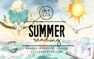 Summer Reading - General Bookish - Flick The Wick