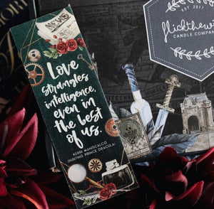 Stalking Jack the Ripper Wooden Bookmark - Flick The Wick