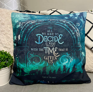 LOTR Double-sided Pillow Cover - Flick The Wick