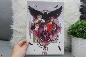 7x10 The Dregs Six of Crows Art Print - Flick The Wick