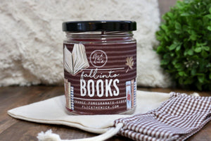 Fall Into Books - Limited Fall Collection - Flick The Wick