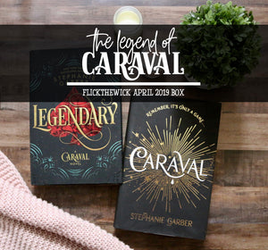 April Box - The Legend of Caraval - Flick The Wick
