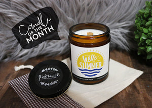Hello Summer - 6oz Signature Collection - Flick The Wick