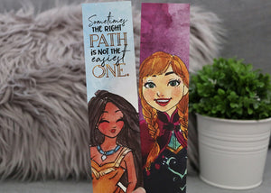 2x8 Sturdy Double-sided Princesses Bookmark - Flick The Wick