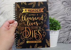 A Reader Lives Notebook - Flick The Wick