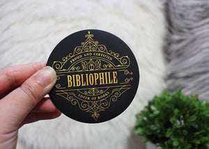 Bibliophile Magnet - Flick The Wick