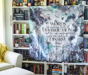 The Raven Boys Wall Tapestry - Flick The Wick