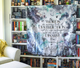 Throne of Glass Wall Tapestry - Flick The Wick