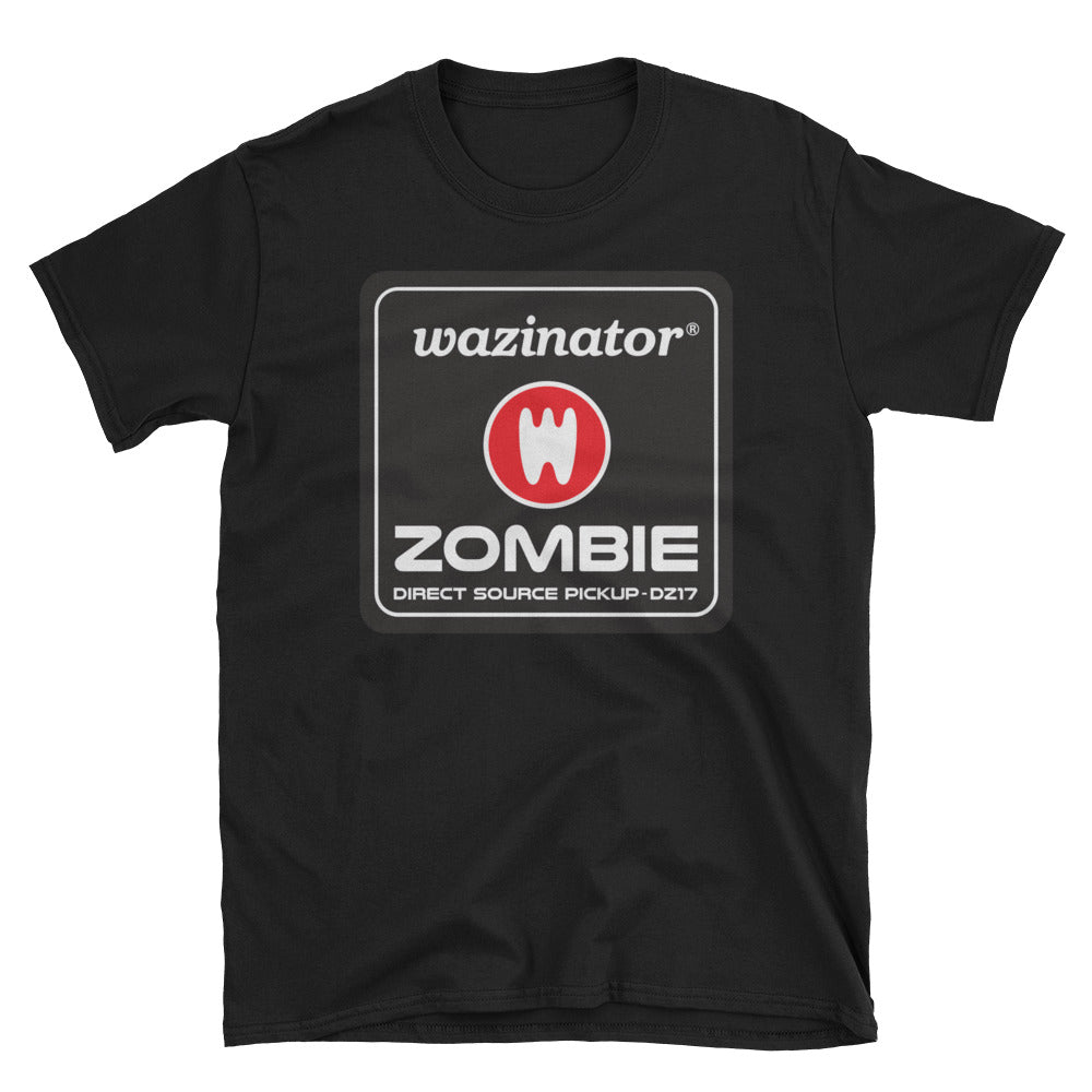 Wazinator Zombie Drum Pickups - Short-Sleeve Unisex T-Shirt