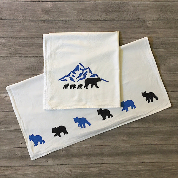 Momma Black Bear-Towel Set