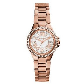 Michael Kors Rose Gold Tone Petite Camille Women s Watch