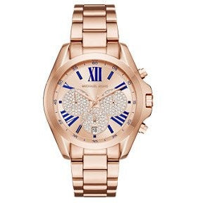 Michael Kors Women s Bradshaw Rose Gold Tone Watch MK6321