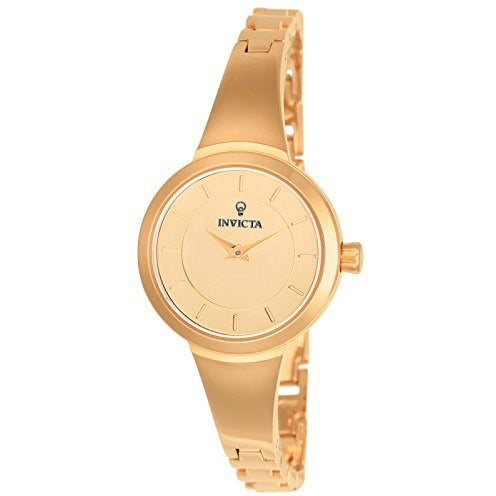 Invicta Women s Gabrielle Union Quartz Stainless Steel Casual Watch, Color Rose Gold Toned Model 23318