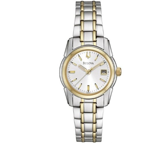 Bulova 98M105 Ladies Two Tone Dress Watch