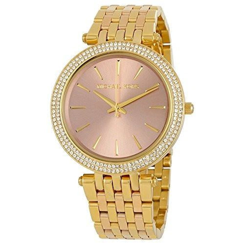 Michael Kors Watches Darci Three Hand Watch