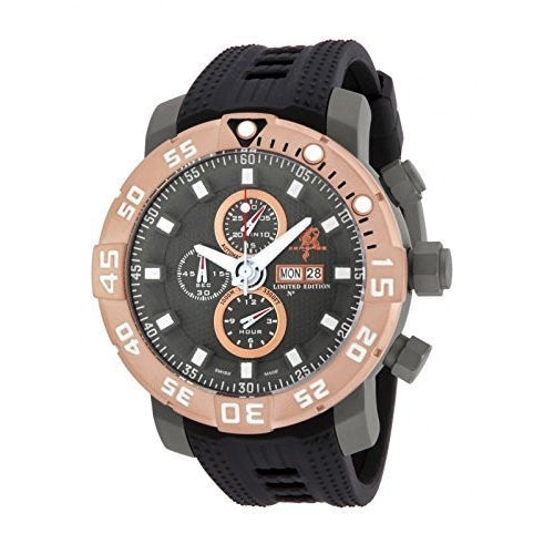 Invicta Men s 14231 Sea Base Limited Edition Rosetone Titanium Gunmetal Swiss Automatic ETA 7750 Watch
