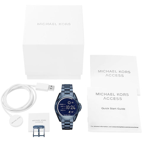 Michael Kors Access Touchscreen Blue Bradshaw Smartwatch MKT5006
