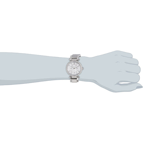 Michael Kors Women s MK5615 Parker Silver Watch