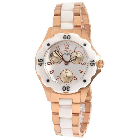 Invicta Classic Angel Ceramic Ladies Watch 1657