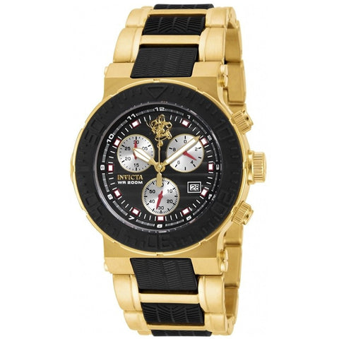 Invicta Men s 17951 Ocean Reef Sea Base Swiss Quartz Chronograph Two Tone Stainless Steel